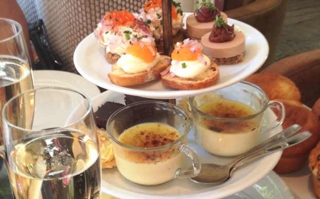 Afternoon tea at Hotel Diplomat in Stockholm